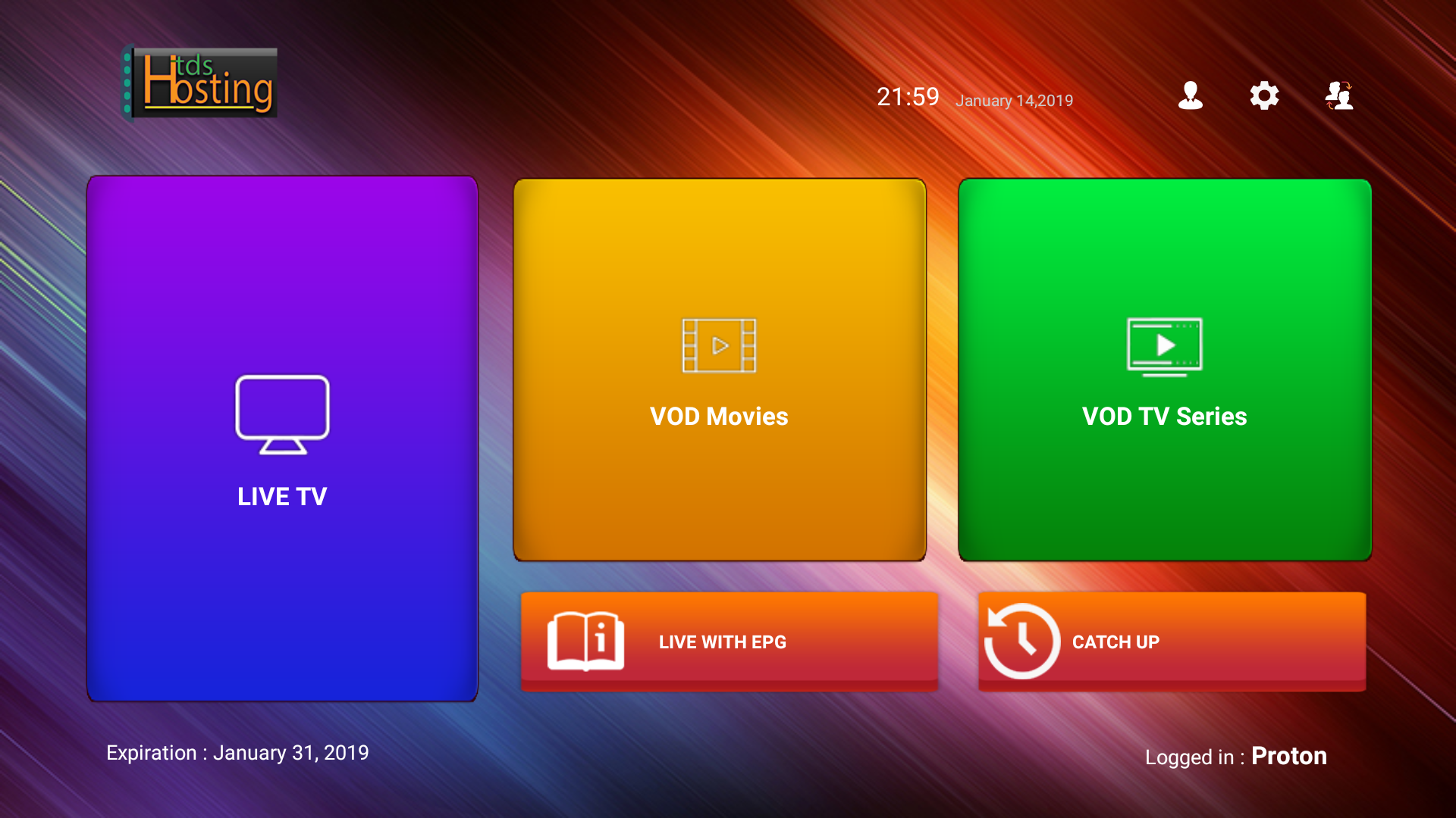 Color tdshost app